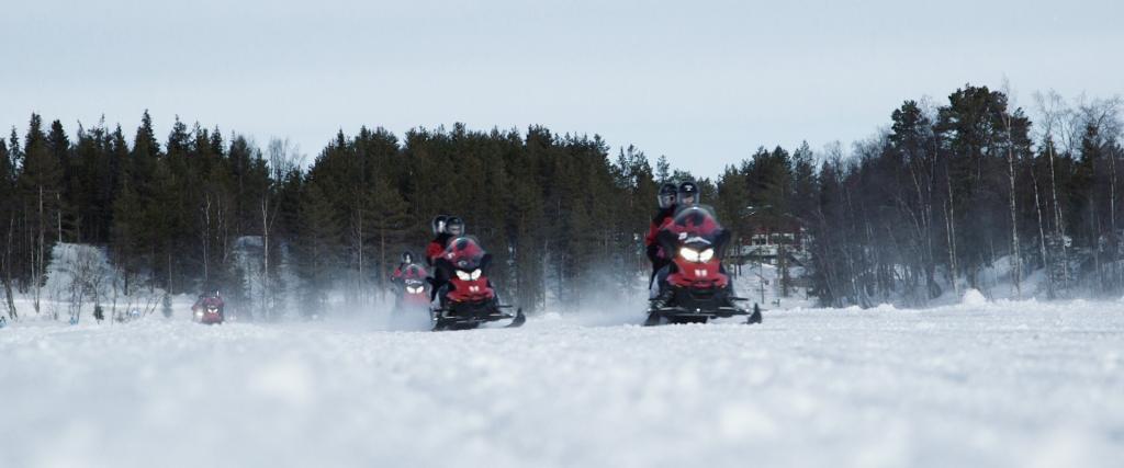 Snowscootersafari Lapland